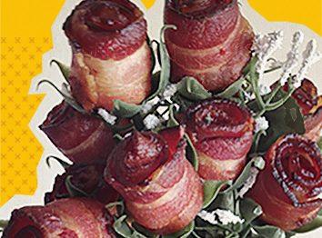 Flores de bacon